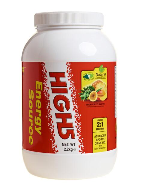 High5 EnergySource Drink Żywność dla sportowców Tropical 2,2kg